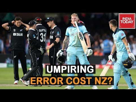 England Vs NZ World Cup Final : Did The Umpires Get The Overthrow Rule Wrong?