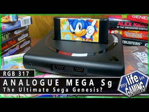 Analogue Mega Sg - The Ultimate FPGA Sega Genesis? :: RGB317 / MY LIFE IN GAMING