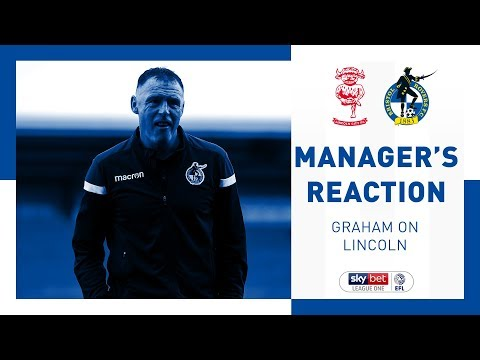 Match Reaction - Graham Coughlan - Lincoln City
