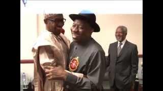 President Jonathan Meets Buhari
