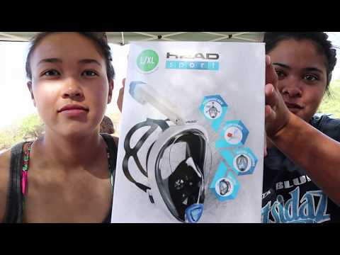 Beach day/HEAD sport full face mask review
