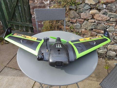 ar-stealth-wing--inav-172--maiden-flight