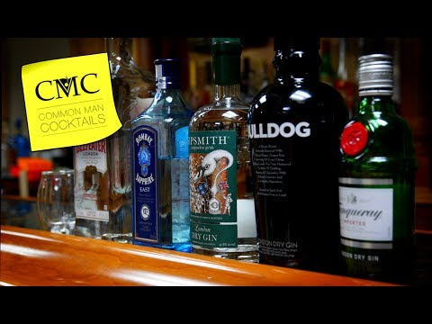 ⏰   5 London Dry Gin Reviews in 5 Minutes: Bombay East, Sipsmith, Beefeater, Tanqueray and Bulldog