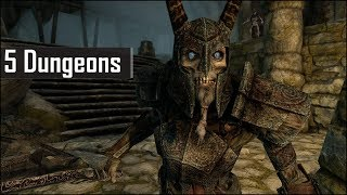 Skyrim: Top 5 Interesting Dungeons You May Have Missed in The Elder Scrolls 5: Skyrim