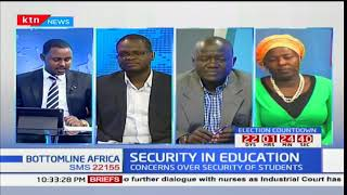 Concern over security in schools as institutions get political infiltration: Bottomline Africa