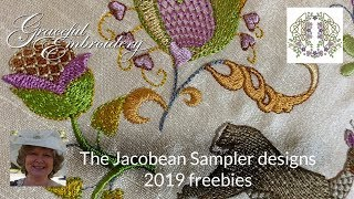 Jacobean Sampler Designs - Group Freebies 2019