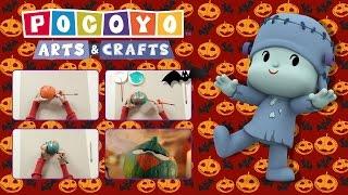 ✂️POCOYO In ENGLISH📏: Arts & Crafts - Sleepy Bird Pumpkin (Halloween) |VIDEOS And CARTOONS For KIDS