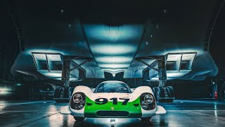 Two icons come together, 917 meets Concorde