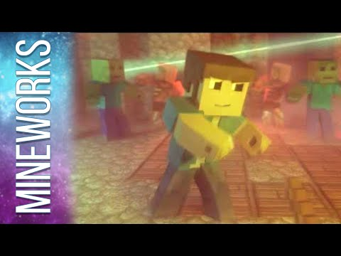 """♫ """"Na Na Na (I Found A Diamond)"""" - An Original Minecraft Song Animation - Official Music Video"""