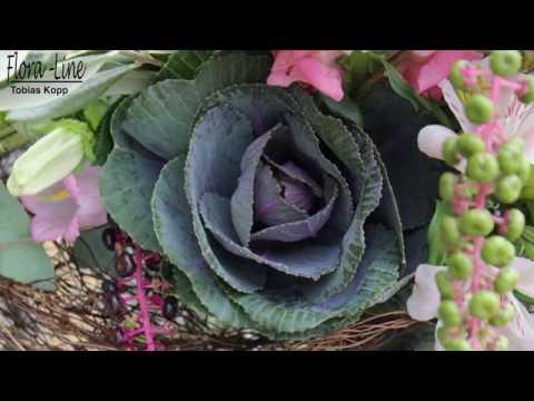 Liebevoller Blumenstrauss in rosa ausgeliefert in Worb