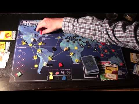 Pandemic Overview of Rules (5 of 5) - End Game Conditions and changes to general rules