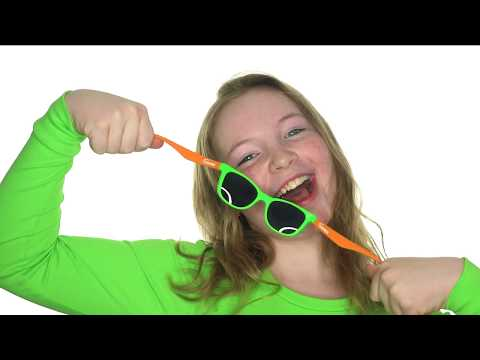 Youtube Video for Suneez - Stylish green bendable sunglasses!