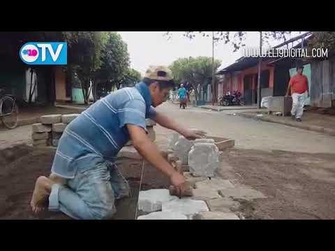 Masaya mejora sus calles y avenidas en un setenta por ciento