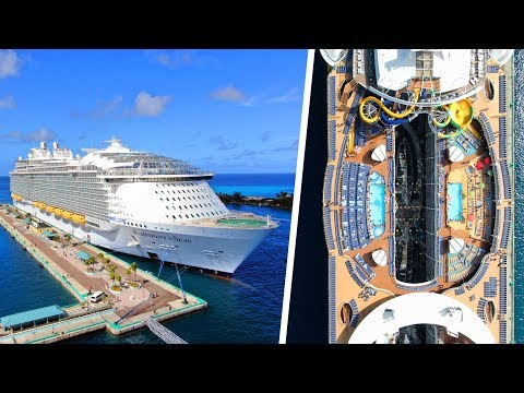 The BIGGEST Cruise Ship in the World (Symphony of the Seas Vlog)