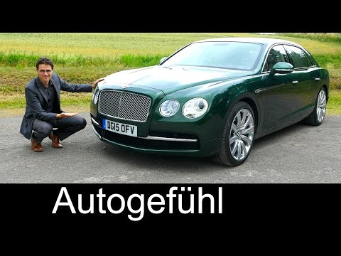 Bentley Flying Spur W12 FULL REVIEW test driven 2016 with 0-100 km/h 0-60 mph (Continental)
