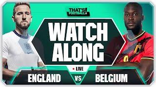 ENGLAND vs BELGIUM LIVE Watchalong with Mark Goldbridge