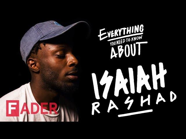 英语中isaiah rashad的视频发音