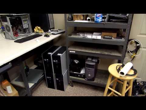 Tour of a Computer Repair Shop