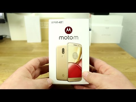 Motorola Moto M unboxing and hands on - english