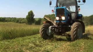 Косилка роторная КРН 2,1 видео