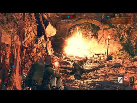 ReyScavenger Gameplay Star Wars Battlefront