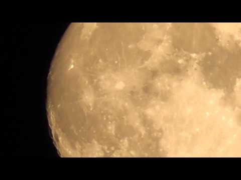 Moon, July 2 2012 - Panasonic HC-V500