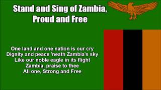 Stand and Sing of Zambia, Proud and Free (National Anthem in Nightcore Style With Lyrics)