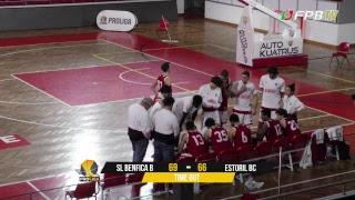 Proliga   SL Benfica B - Estoril BC