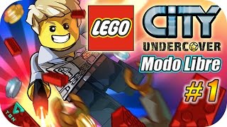 preview picture of video 'LEGO City Undercover - Modo Libre - Capitulo 1 - Español (WiiU) 1080p HD'