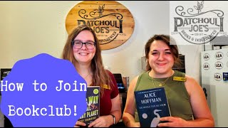 How to Join our Book Club