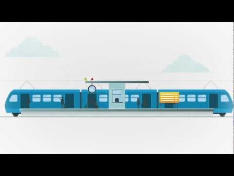 Video of Yandex.Trains