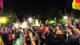 preview picture of video '50,000 People Party in the streets of Brussels, Belgium'