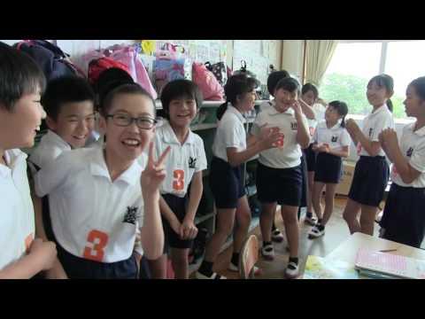種子島の学校活動:榕城小学校・安納小学校5・6年生交流学習2017年