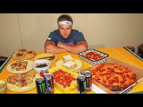 DESAFIO: Dieta de Micael Phelps (12000 calorias)