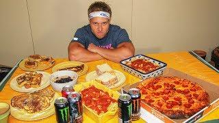 Michael Phelps Diet Challenge (12,000+ Calories)
