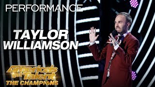 Taylor Williamson: Totally Awkward And Funny Comedian - America's Got Talent: The Champions