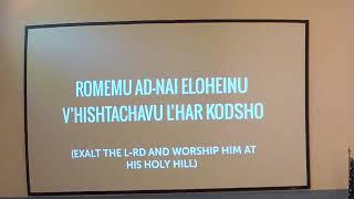 Shabbat Service - November 2, 2019