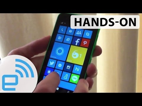 Nokia Lumia 630 hands-on | Engadget