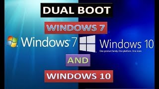 How to Install dual operating system on one hard drive in your computer