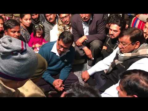 Delhi CM Arvind Kejriwal met the family of Ankit Saxena , Assured Legal and Medical help