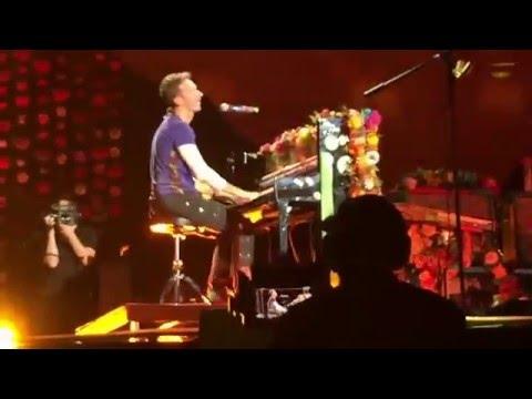 Coldplay - The Scientist - Live in São Paulo, Brazil, 2016