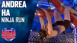 Andrea Ha Full Run | Australian Ninja Warrior 2017