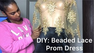 How To Make A Lace Mermaid Prom Dress