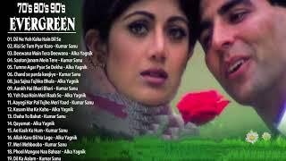 1990 2000 सदाबहार पुराने गाने 💖 अलका याग्निक उदित नारायण लता मंगेशकर कुमार सानू 80's70's90's