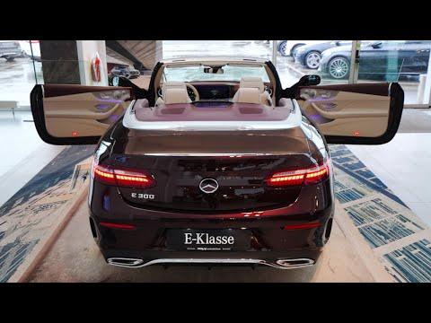 Mercedes E300 AMG Line Cabriolet 2021 | My favorite interior