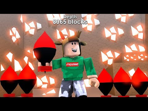 FASTEST WAY TO MAKE MONEY IN ROBLOX MINING SIMULATOR! (1,000 BLOCKS DOWN)
