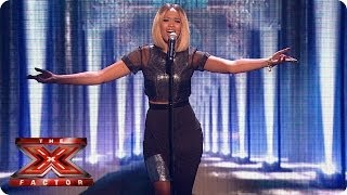 Tamera Foster sings Impossible by James Arthur - Live Week 7 - The X Factor 2013