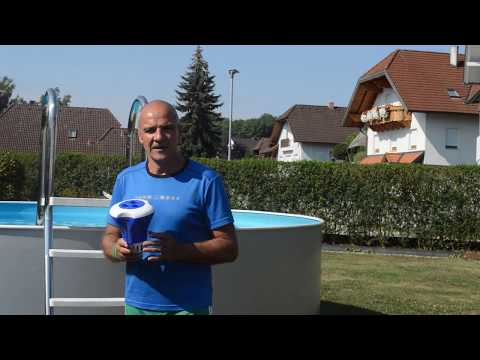 Pool reinigen leicht gemacht #3  Der Dosierschwimmer/Skimmer
