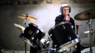 Bathory   In Nomine Satanas drum cover