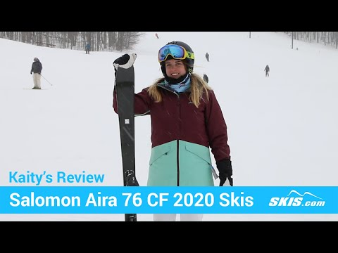 Video: Salomon Aira 76 CF Skis 2020 11 50